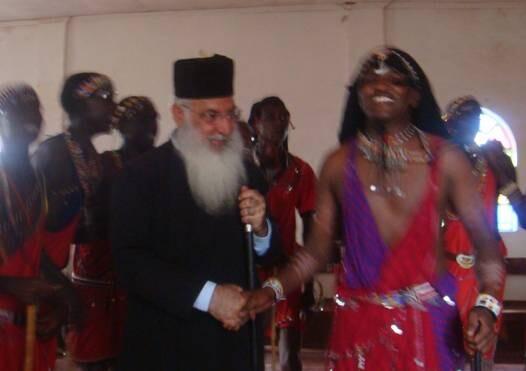 Владыка Макарий с семинаристом