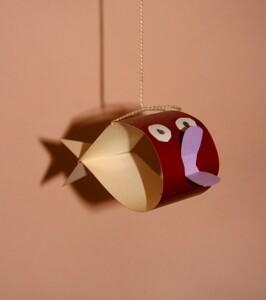 Поделки из бумаги и картона- рыбки