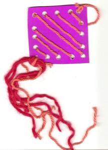 Плетение - елочная игрушка