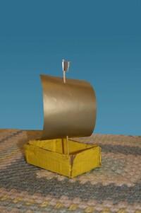 Поделки для детей - Кораблик