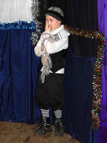 Рождественский праздник 2008. Что-то кольнуло меня в глаз...
