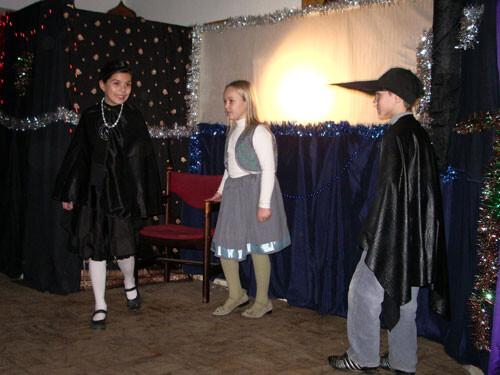 Рождественский праздник 2008. Ворон и ворона, Карл и Клара.