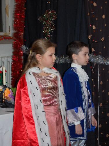Рождественский праздник 2008. Принц и принцесса.