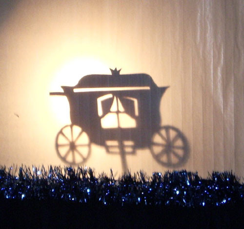 Рождественский праздник 2008. Герде дали карету...