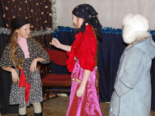 Рождественский праздник 2008. ''Здравствуй, дочь!'' - ''Здравствуй, мать!''