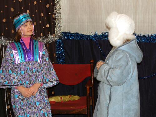 Рождественский праздник 2008. Финка