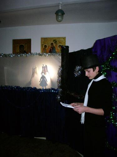 Рождественский праздник 2008. Герда принялась читать ''Отче наш''