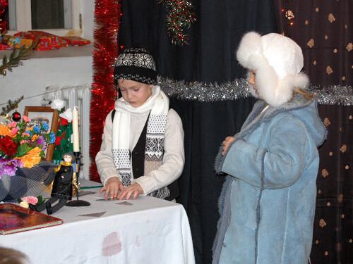 Рождественский праздник 2008. Во дворце Снежной королевы