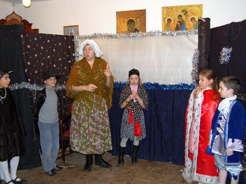 Рождественский праздник 2008. В ожидании Кая и Герды.