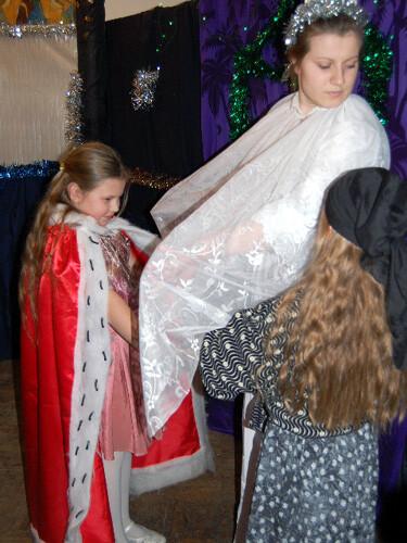 Рождественский праздник 2008. Снежная королева.