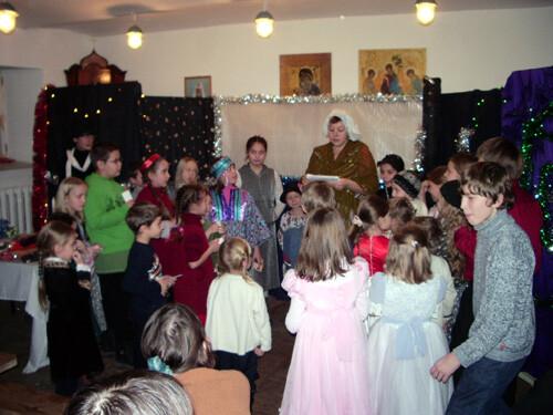 Рождественский праздник 2008. Конкурсная программа.