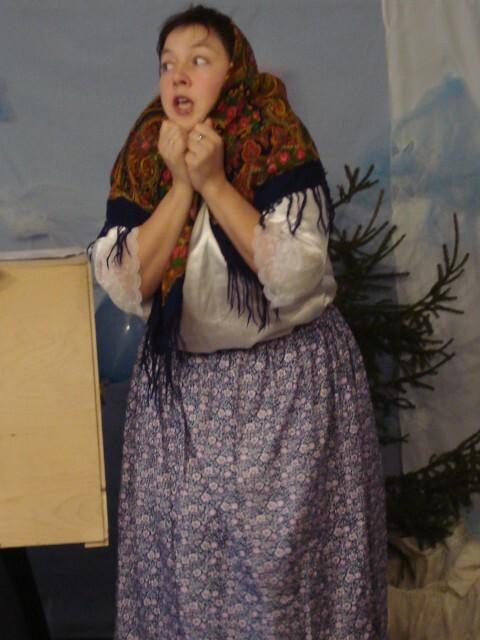 Рождественский праздник - Матрешка