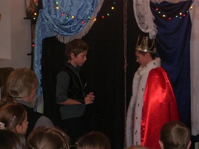 Рождественский спектакль - Король