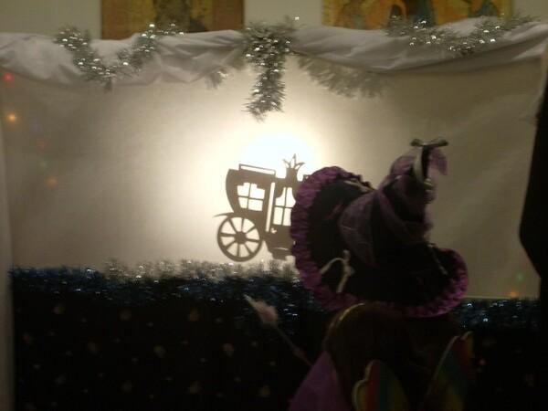 Рождественский спектакль - Карета