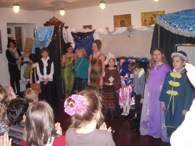 Рождественский спектакль - поклон