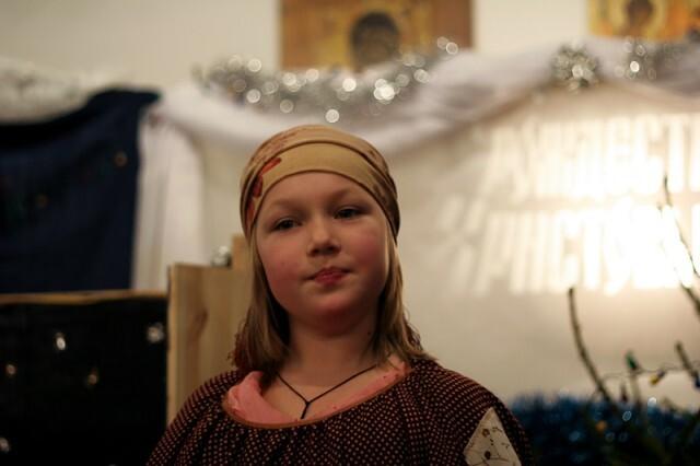 Рождественский праздник - Баба Яга